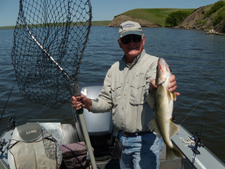 great catch fishing from South Dakota guide services