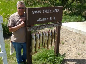 Missouri River fishing and camping