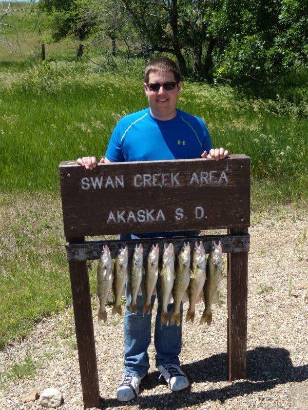 Missouri River fishing success