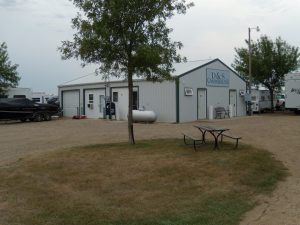 South Dakota Missouri River campground